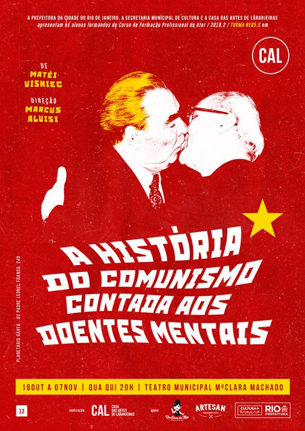 A HISTÓRIA DO COMUNISMO CONTADA AOS DOENTES MENTAIS