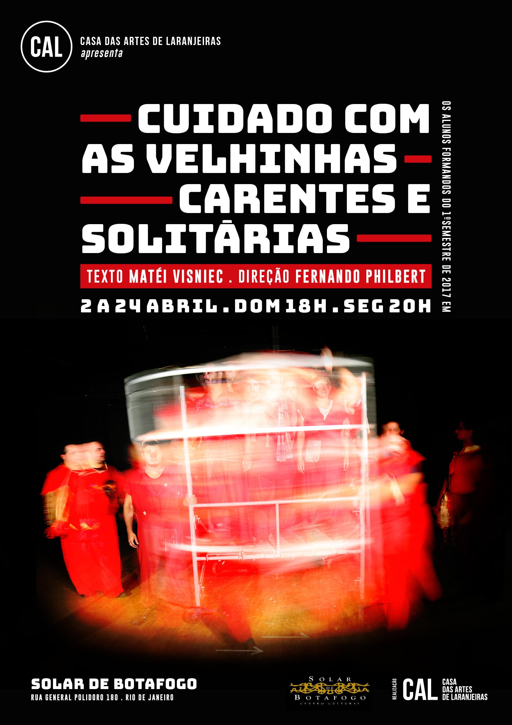 CUIDADO COM AS VELHINHAS CARENTES E SOLITÁRIAS