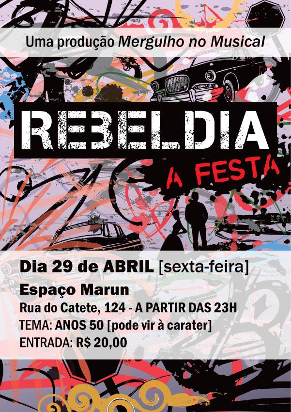 REBELDIA - O MUSICAL